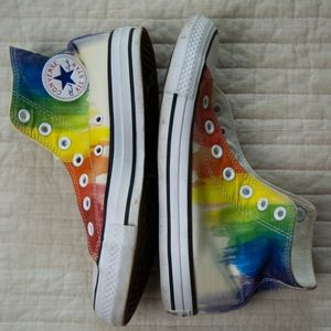 CONVERSE Limited Edition Rainbow Hightop Sneakers